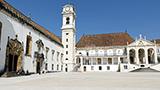 Portugalia - Liczba hoteli Coimbra