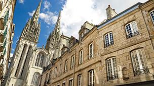 Francja - Liczba hoteli Concarneau