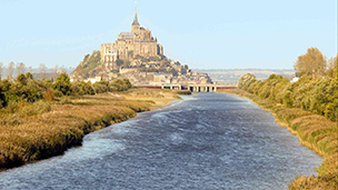 Fransa - le Mont Saint Michel Oteller