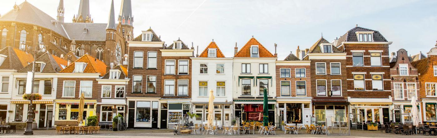 Holandia - Liczba hoteli Delft