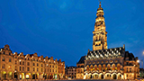 Francja - Liczba hoteli Douai