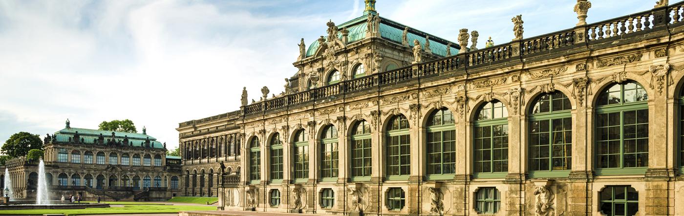Niemcy - Liczba hoteli Drezno