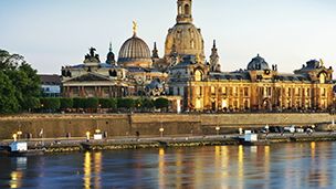 Tyskland - Hotell Dresden