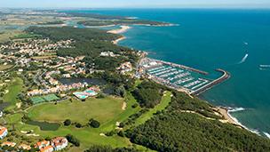 Francja - Liczba hoteli Olonne sur Mer