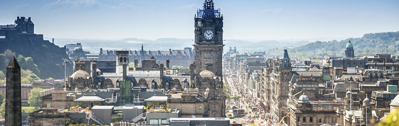 Reino Unido - Hotéis Edimburgo