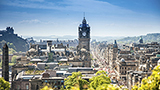 Wielka Brytania - Liczba hoteli Edynburg