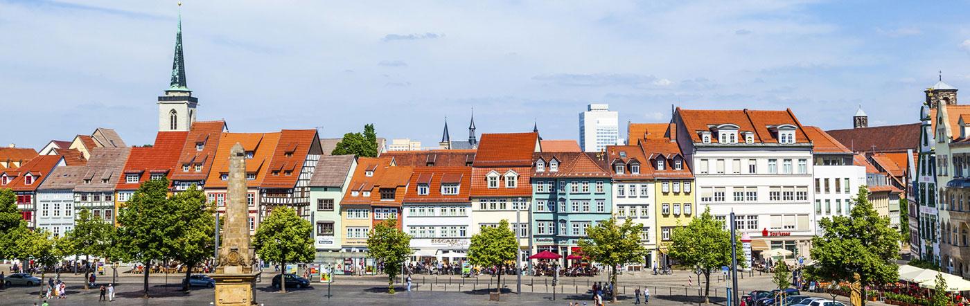 Allemagne - Hôtels Erfurt