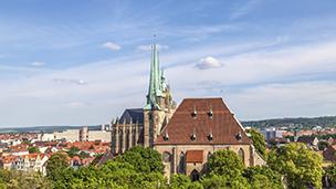 Niemcy - Liczba hoteli Erfurt