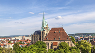 Alemania - Hoteles Erfurt