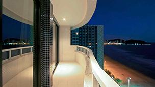Brazylia - Liczba hoteli Balneario Camboriu