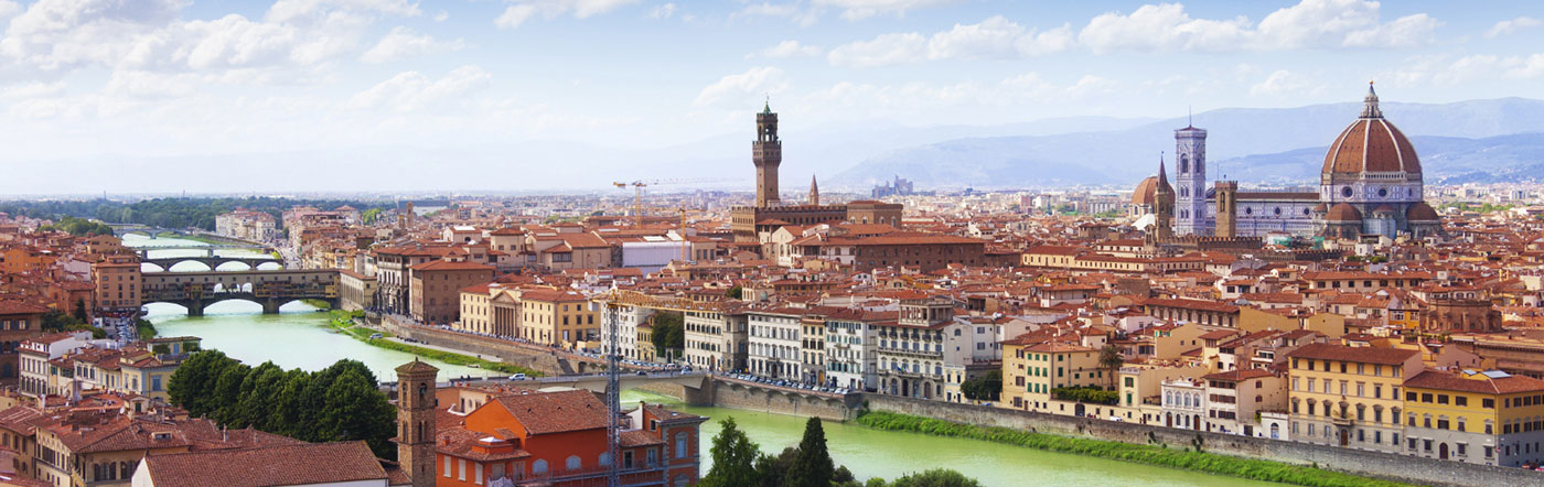 Włochy - Liczba hoteli Florencja