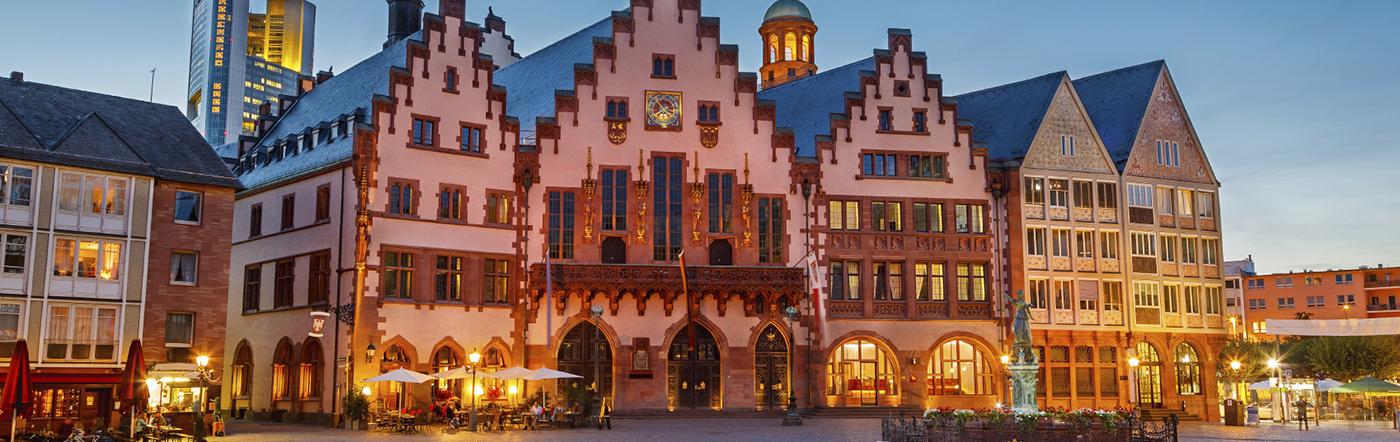 Alemania - Hoteles Frankfurt