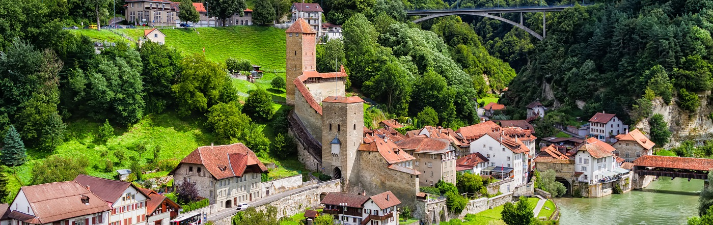 Suiza - Hoteles Friburgo