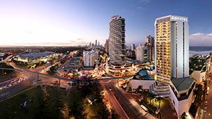Australien - Hotell Broadbeach