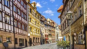 Almanya - Nürnberg Oteller