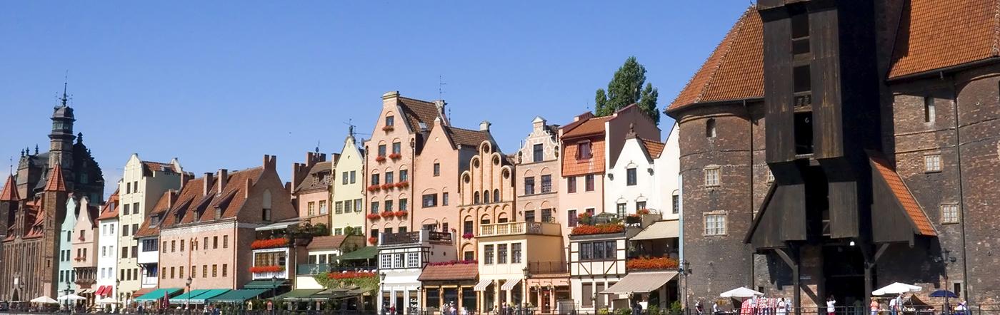 Polônia - Hotéis Gdansk