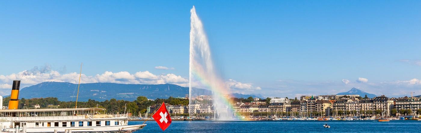 Szwajcaria - Liczba hoteli Genewa
