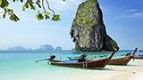 Tajlandia - Liczba hoteli Krabi