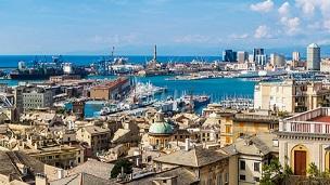 Włochy - Liczba hoteli GENUA