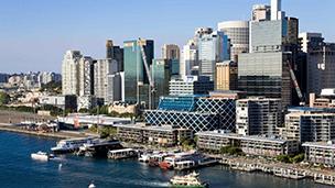 Australia - Liczba hoteli Mascot