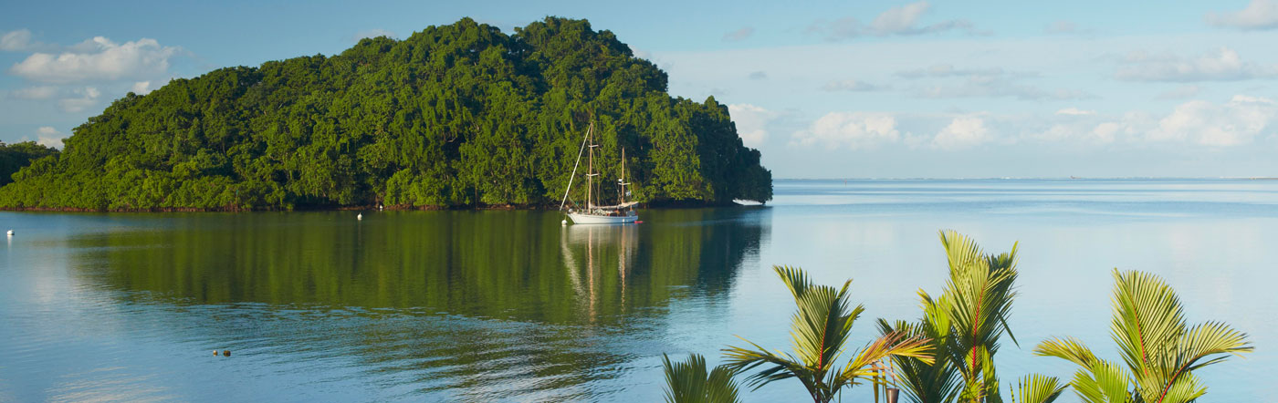 Fijiöarna - Hotell Suva