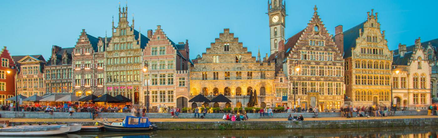 Bélgica - Hoteles Gante