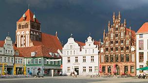 Niemcy - Liczba hoteli Greifswald