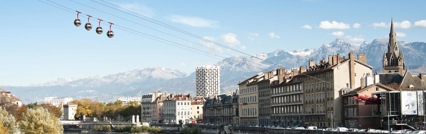 Francja - Liczba hoteli Grenoble