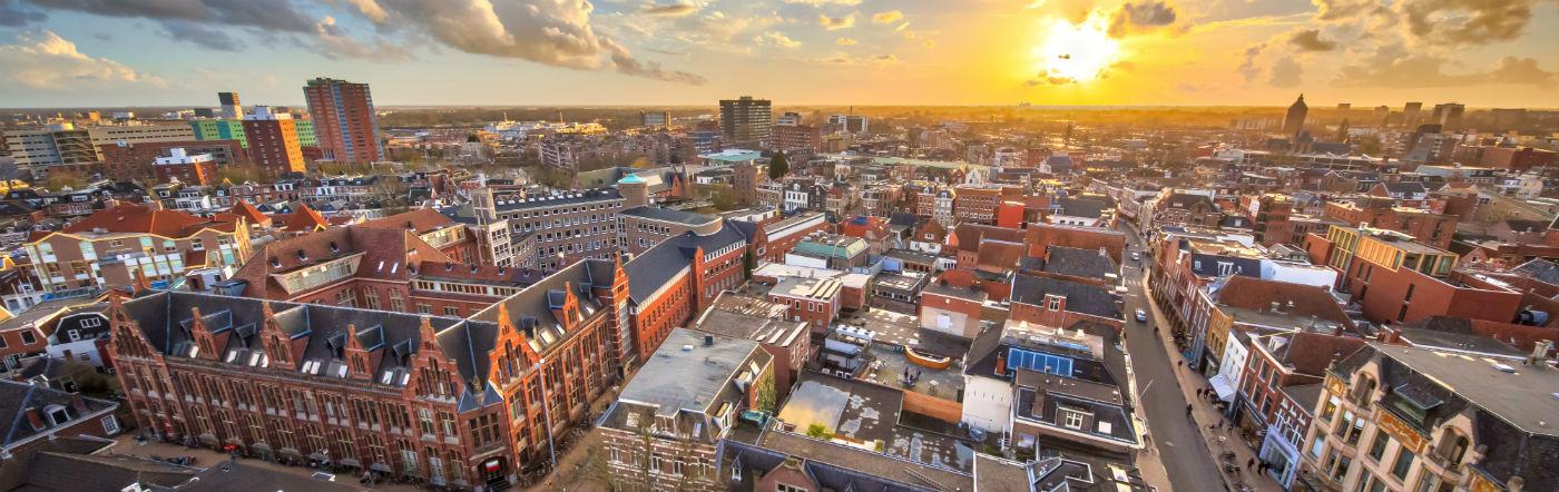 Holandia - Liczba hoteli Groningen