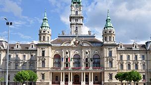 Węgry - Liczba hoteli Győr