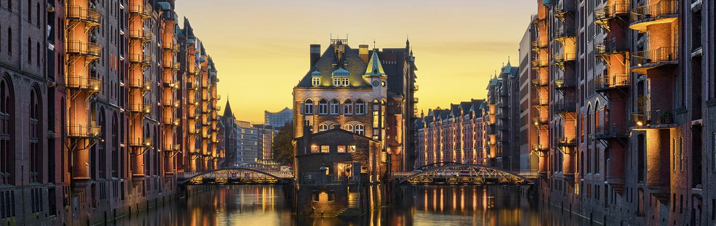 Niemcy - Liczba hoteli Hamburg
