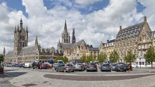 Belgia - Liczba hoteli Ypres