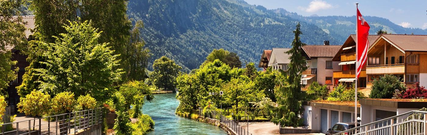 Szwajcaria - Liczba hoteli Interlaken