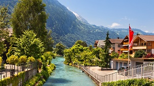 Switzerland - Hotéis Interlaken