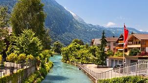 سويسرا - فنادق إنترلاكن