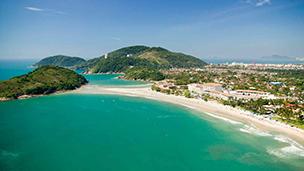 Brazylia - Liczba hoteli Guaruja