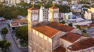 Brazylia - Liczba hoteli Campo Grande