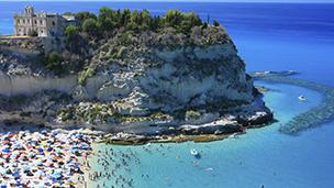 Włochy - Liczba hoteli Tropea