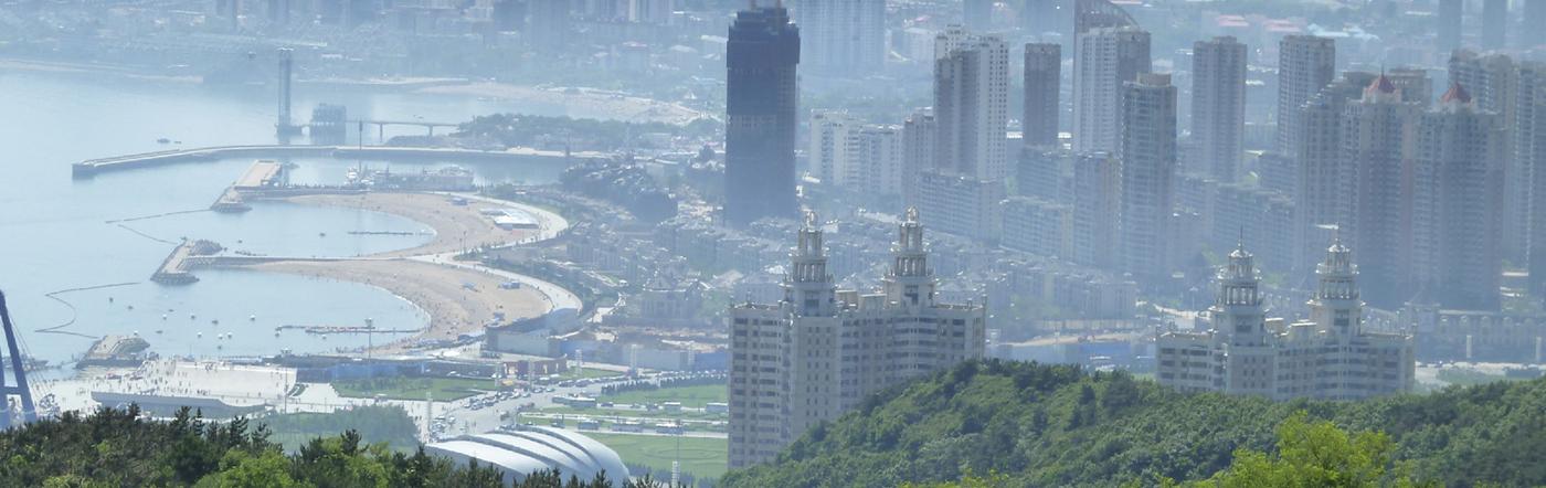 Chiny - Liczba hoteli Dalian