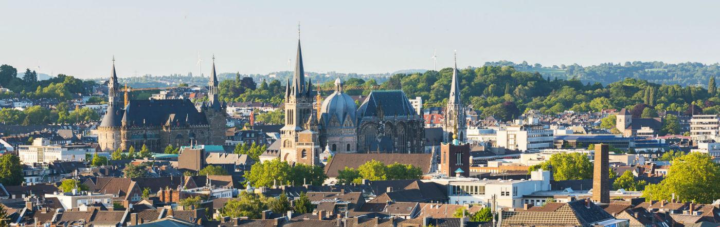 Belgia - Liczba hoteli Raeren