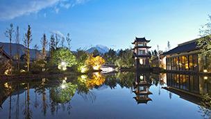 Chiny - Liczba hoteli Lijiang