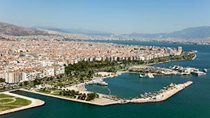 Turcja - Liczba hoteli Izmir