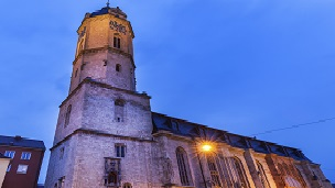Niemcy - Liczba hoteli Jena
