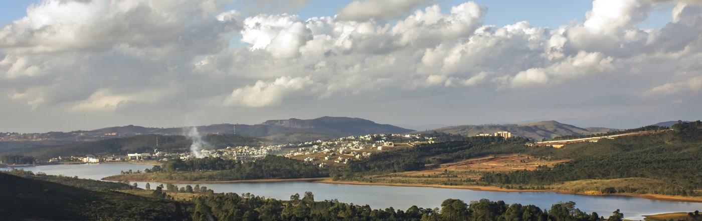 Brazylia - Liczba hoteli Poços de Caldas