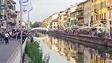 Włochy - Liczba hoteli Agrate Brianza