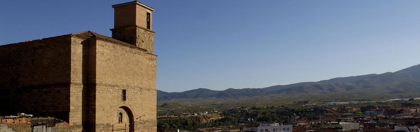 Hiszpania - Liczba hoteli Arnedo
