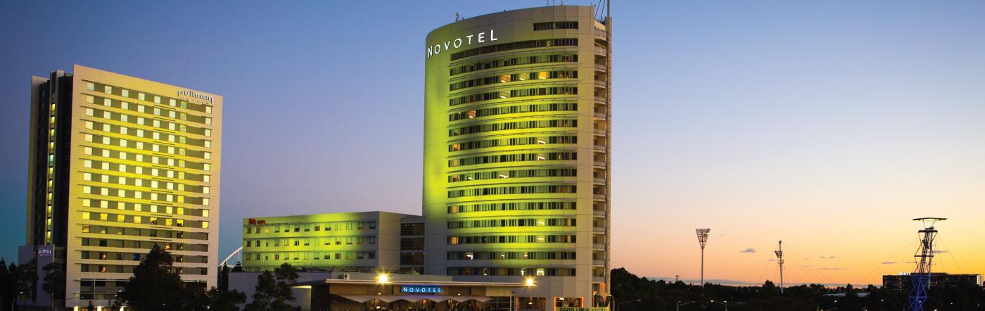 Austrália - Hotéis Parque Olímpico de Sydney