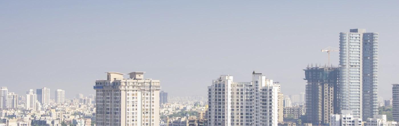 Indie - Liczba hoteli Nawi Mumbaj