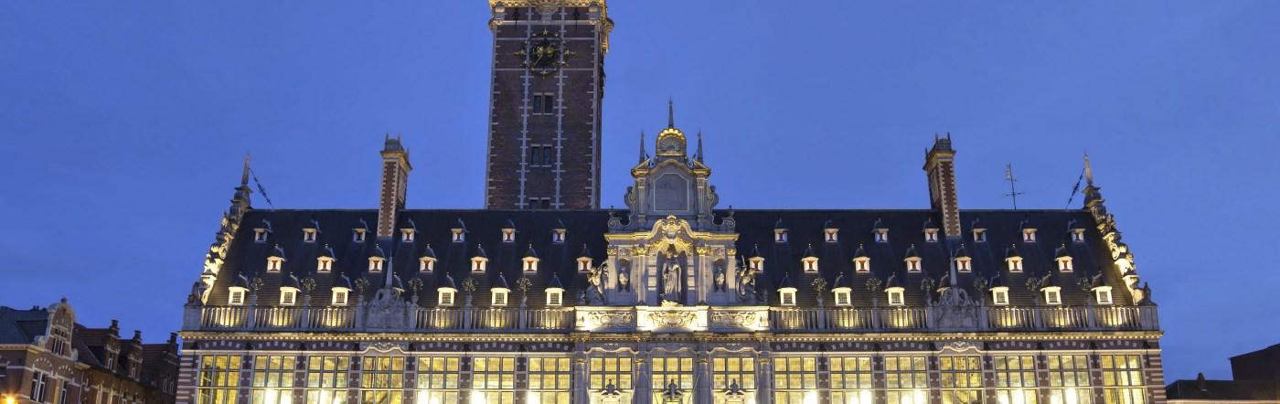 Belgia - Liczba hoteli Heverlee