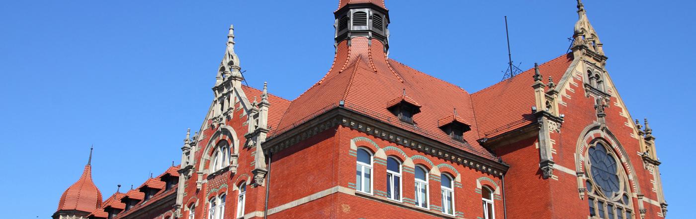 Polska - Liczba hoteli Katowice